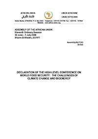 Declaration of the High-level Conference on World Food