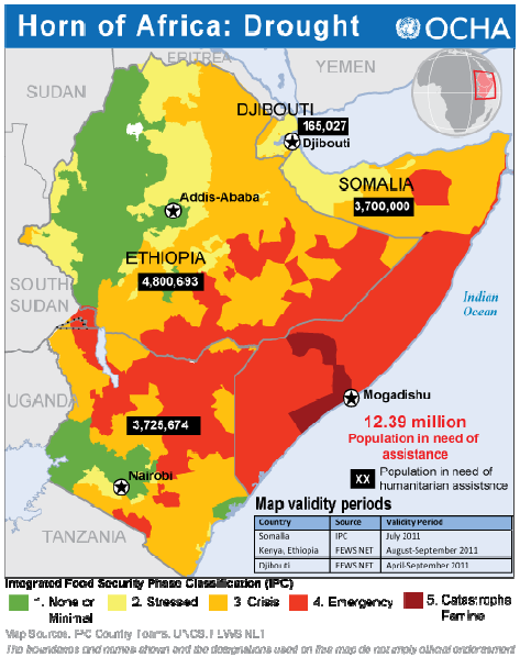 Monthly Updates: Explaining the Current Drought in East Africa